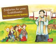 Bildkarten: Don Bosco und die Spatzen