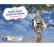 Bildkarten: Familie Specht braucht ein Zuhaus