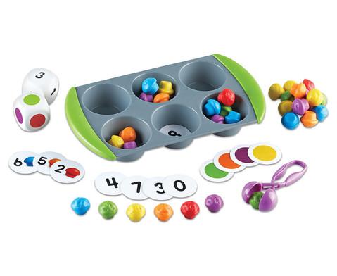 Mini-Muffin Zaehl-  Sortierspiel