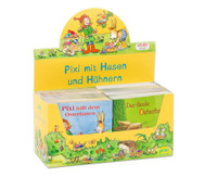 Pixi-Kassette: Pixi mit Hasen und Hühnern