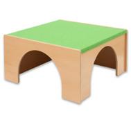 Spielpodest Quadrat gross, Öffnung übereck