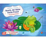 Bildkarten: Quacki, der kleine Frosch