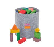 56 bunte Korxx-Bausteine (verschiedene Formen)