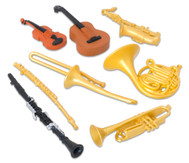 Musikinstrumente, 8 Stück