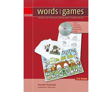 Words and Games 3rd Grade-1