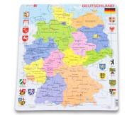 Deutschland - politisch - Puzzle