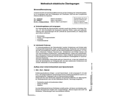 Deutsch als Zweitsprache in Vorbereitungsklassen - Band 5-5