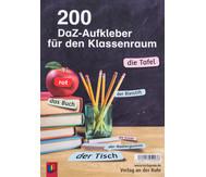 200 DaZ Aufkleber für den Klassenraum