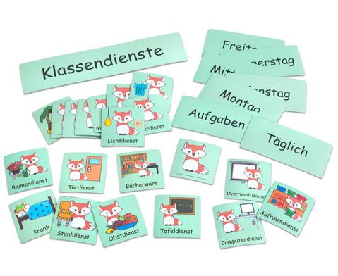 Klassendienst Tafelmagnete Set-3