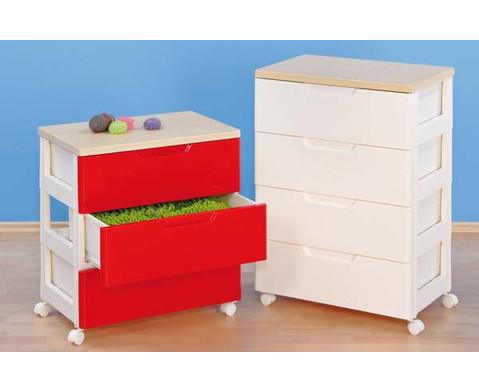 Container-System mit 6 grossen Schueben-3