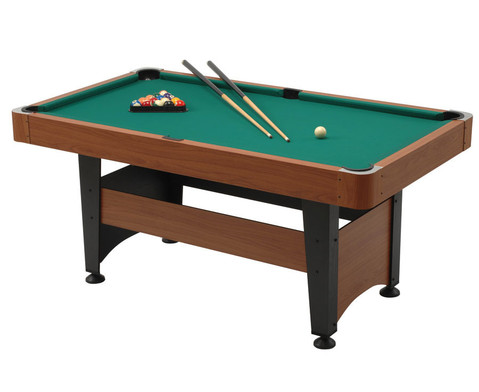 Billard-Set CHICAGO Spielflaeche 140 x 70 cm-1