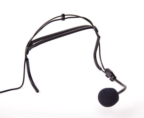 Funk-Kopfbuegelmikrofon mit Empfaengereinheit-2
