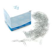 Büroklammern, 1000 Stück, stahlfarben, 26 mm