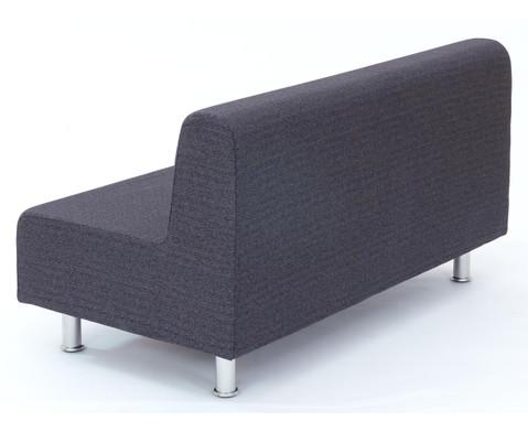 Flexeo Neo Bankelement mit Ruecken BxT 134 x 72 cm-4