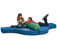 Betzold Sofa (ohne Rückenpolster)