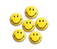 Smiley-Magnete 6er-Set