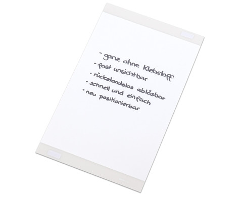 Selbstklebende DIN-A4 Infotasche transparent