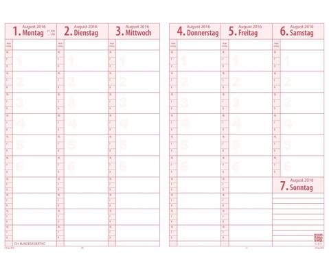 TimeTex Schulplaner 2016-2017 Format A4 plus-2