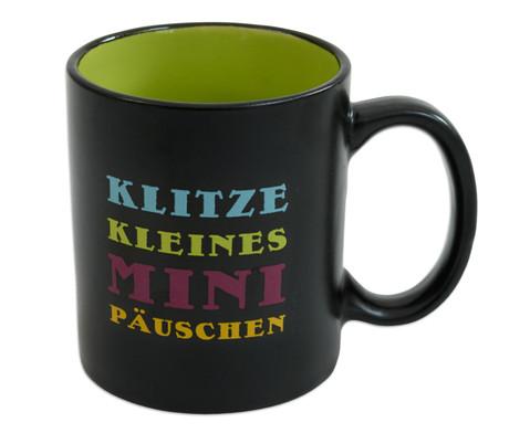 Buerotasse Motiv Mini Paeuschen-1