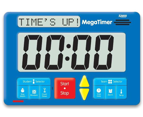 Zeitdauer-Uhr Digital Mega-5