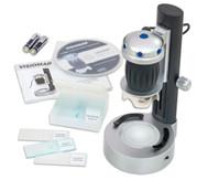 Handmikroskop mit LED Stand