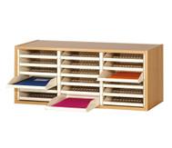Personal-Postfächer, 18 Postfächer für DIN A4