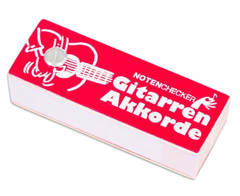 Notenchecker Gitarren Akkorde