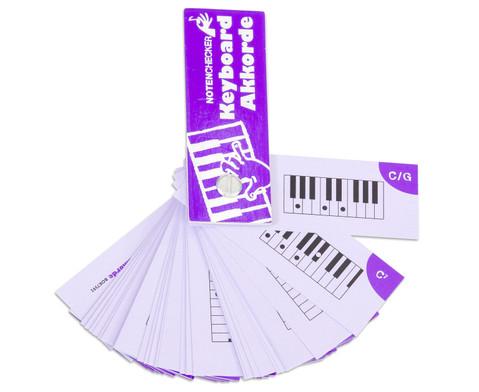 Notenchecker Keyboard Akkorde-4