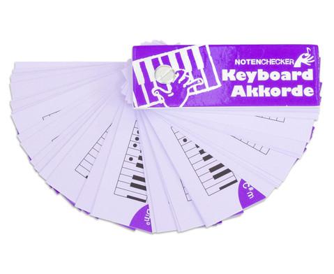 Notenchecker Keyboard Akkorde-5
