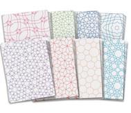 Mosaikpapier, verschiedene Muster