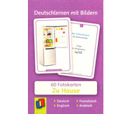 60 Fotokarten Zu Hause - Deutschlernen mit Bildern