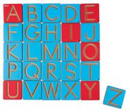 Schreibspuren - Großbuchstabenkärtchen