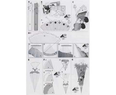 Schultueten-Komplett-Sets verschiedene Motive-4