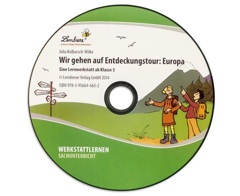 Lernwerkstatt Wir gehen auf Entdeckungstour Europa-4