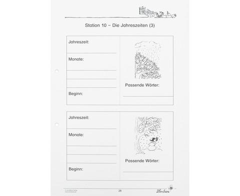 Lernwerkstatt Der Kalender - mein Wegweiser durchs Jahr-3