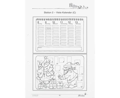 Lernwerkstatt Der Kalender - mein Wegweiser durchs Jahr-4