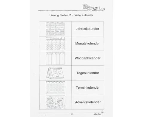 Lernwerkstatt Der Kalender - mein Wegweiser durchs Jahr-5