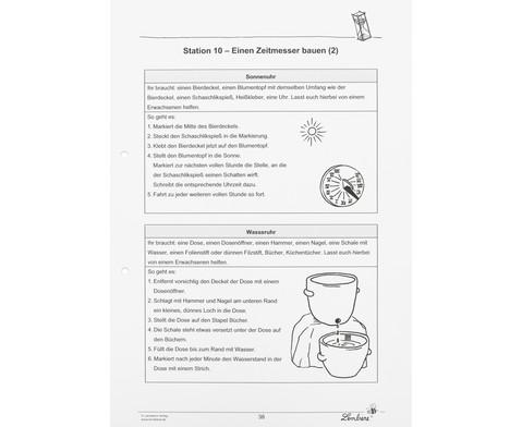 Lernwerkstatt Uhren  mehr - Zeitforscher unterwegs-4
