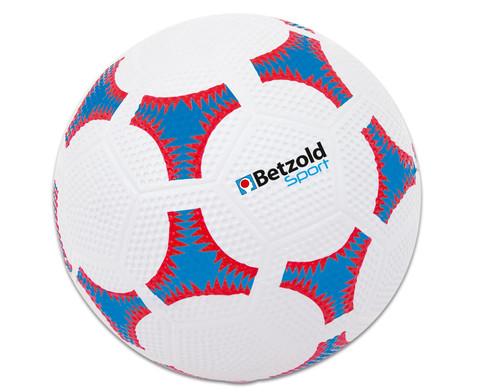 Schulhof-Fussball blau