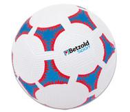 Schulhof-Fussball, blau