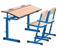 Schülerstuhl Ecoflex Sitzhöhen 3, 4, 5