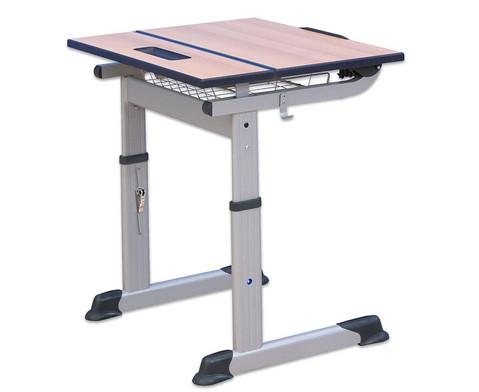 Aluflex-Einer-Tisch DIN-ISO Groessen 345