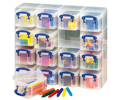 Really Useful transparente Sortierboxen