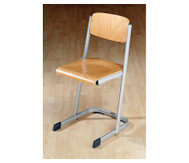 Schülerstuhl mit Knierolle, Sitzhöhe: 34 cm