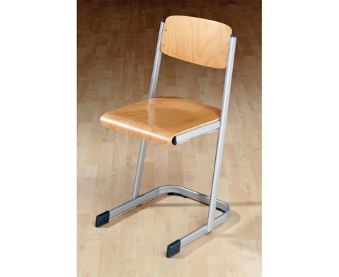 Schuelerstuhl mit Knierolle Sitzhoehe 42 cm