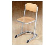 Schülerstuhl, DIN ISO 5970: 3, Sitzhöhe: 34 cm