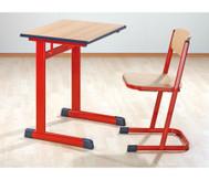 Einzel-Schülertisch,Tischhöhe: 76 cm