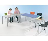 Varimax Rechteck-Tisch I fahrbar, Höhe: 72 cm