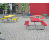 Outdoor Grande Tisch-Sitz-Kombination