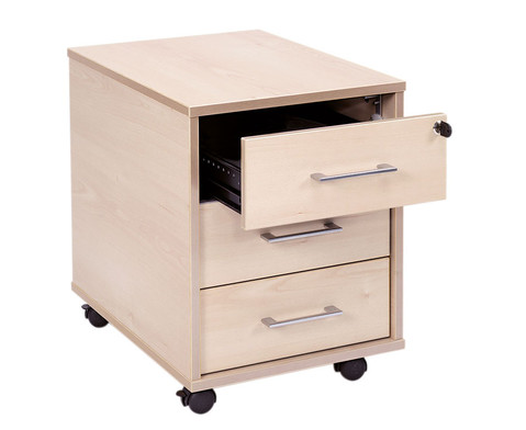 Rollcontainer mit 3 Schubladen